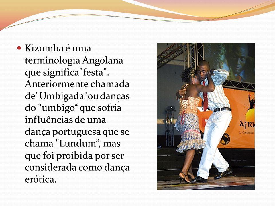 Kizomba é uma terminologia Angolana que significa