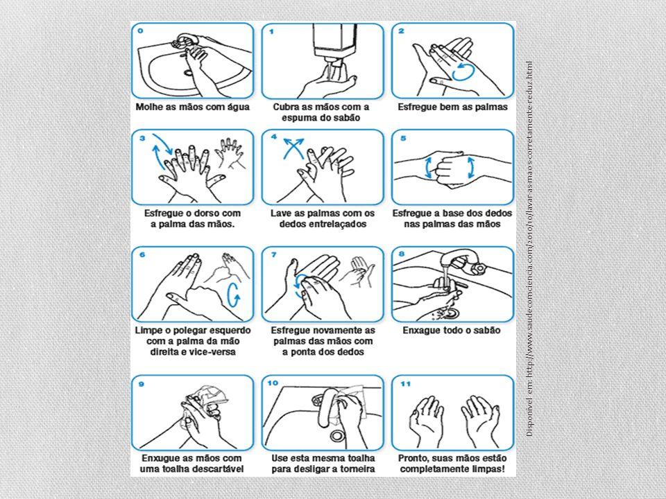 Disponível em: http://www.saudecomciencia.com/2010/10/lavar-as-maos-corretamente-reduz.html