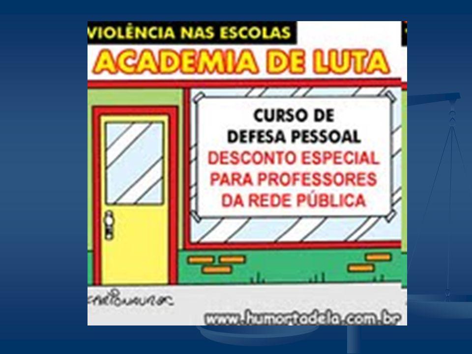 Violência e Cotidiano Escolar Segurança: * Patrulha Escolar * Alarmes Ligados à Distritos Policiais * Grades, correntes e cadeados * Detectores de Met