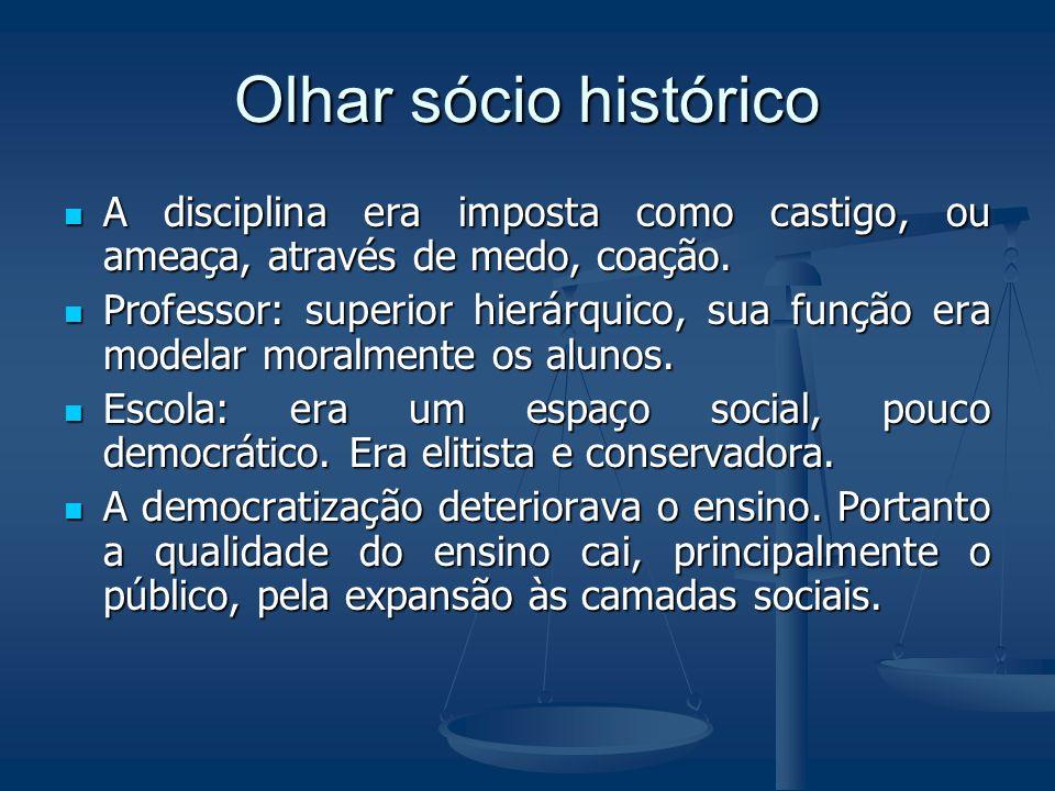 Gestão democrática Escola como espaço de participação Escola como espaço de participação Escola voltada aos interesses da comunidade local Escola volt