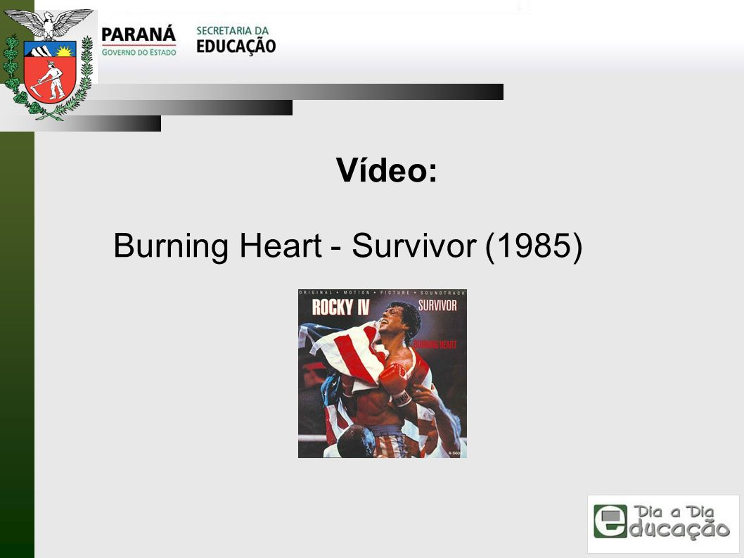 Vídeo: Burning Heart - Survivor (1985)