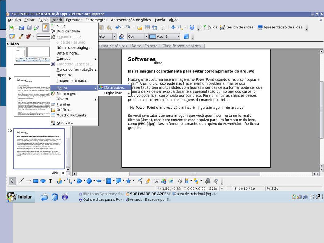 Duplique o slide Se você vai fazer um slide muito parecido com o que está atualmente trabalhando, simplesmente o duplique e altere os dados necessários.