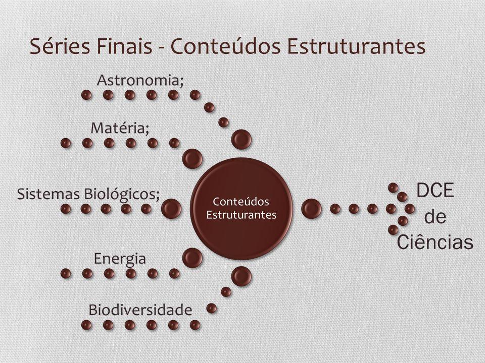 Séries Finais - Conteúdos Estruturantes DCE de Ciências
