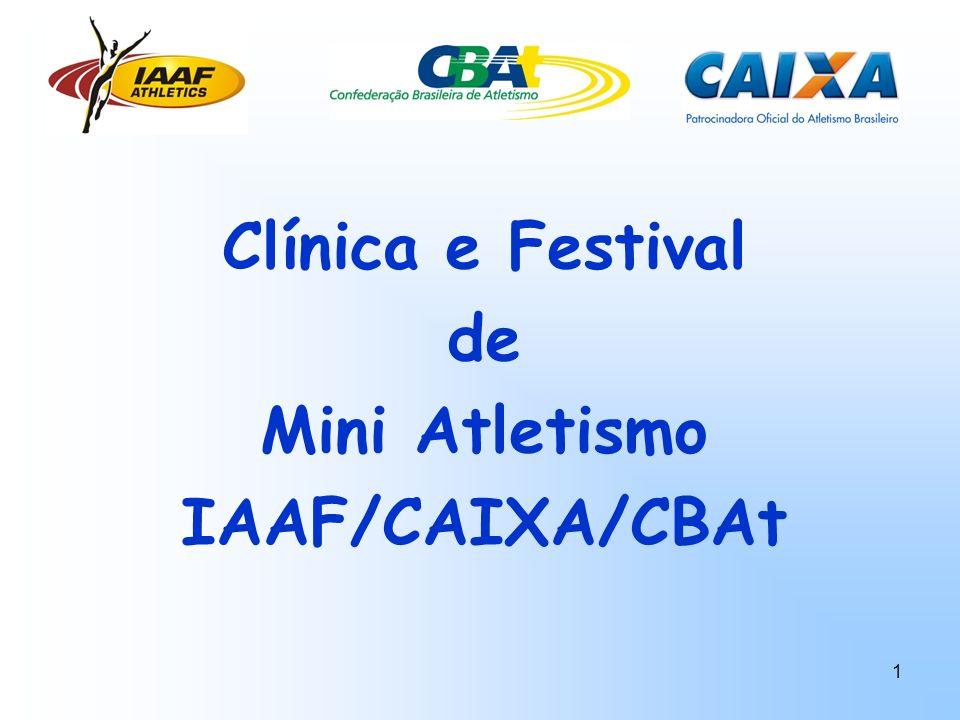 1 Clínica e Festival de Mini Atletismo IAAF/CAIXA/CBAt