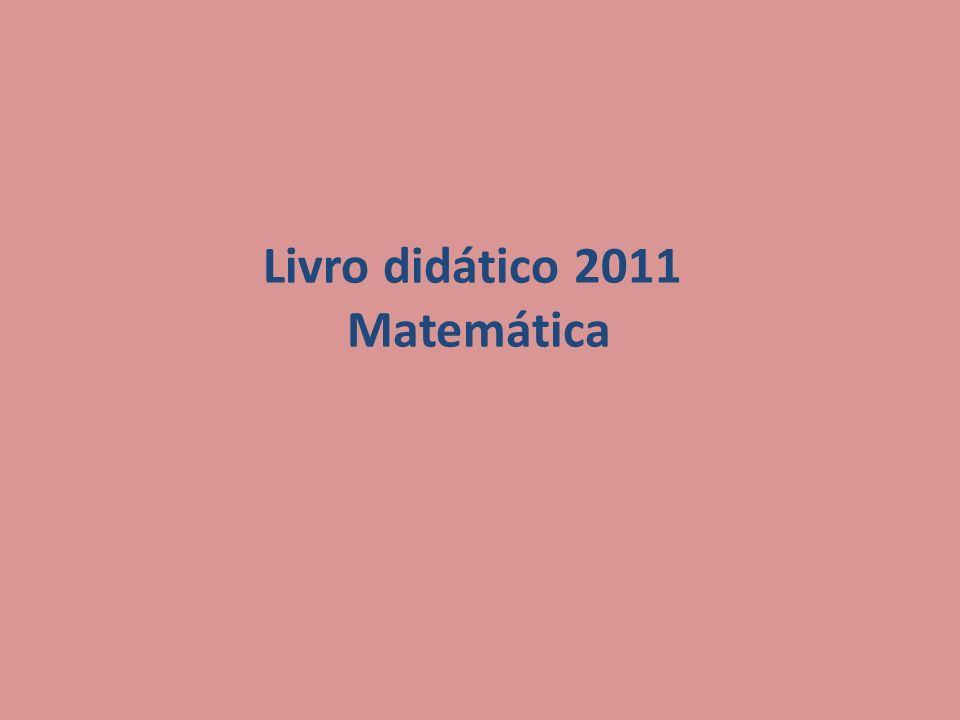 Livro didático 2011 Matemática
