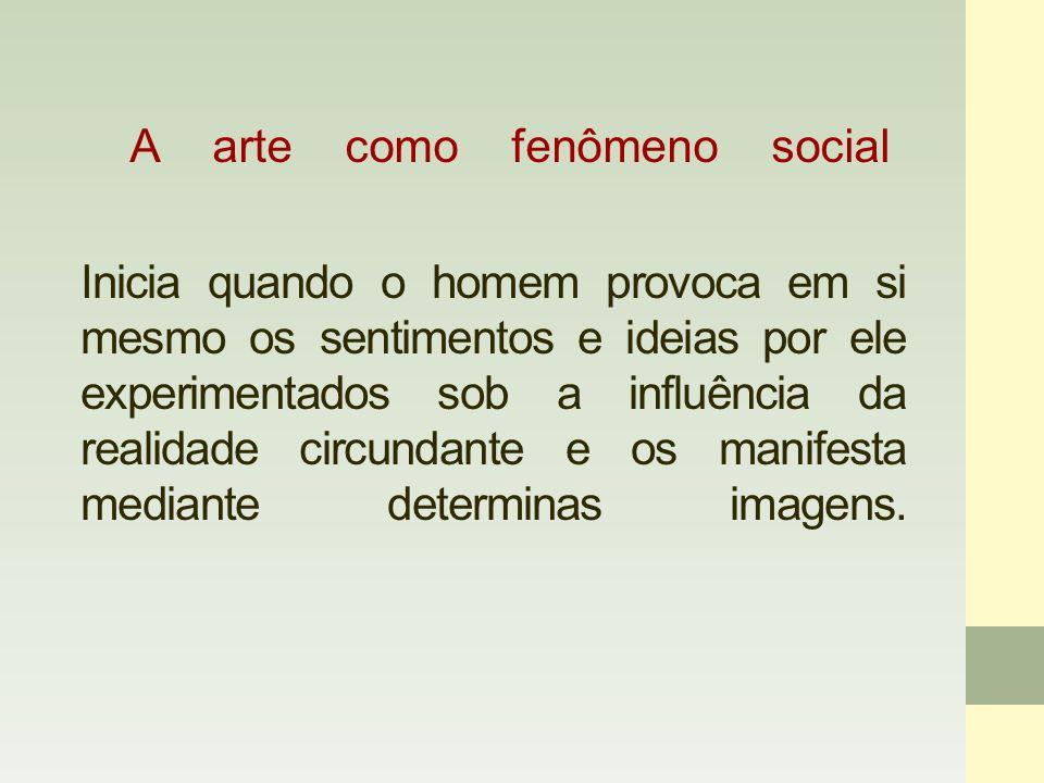 Análise crítica da imagem como recurso metodológico Toda arte é social porque se remete a um contexto histórico-social (seu pensamento, a situação política, social, econômica de um período).