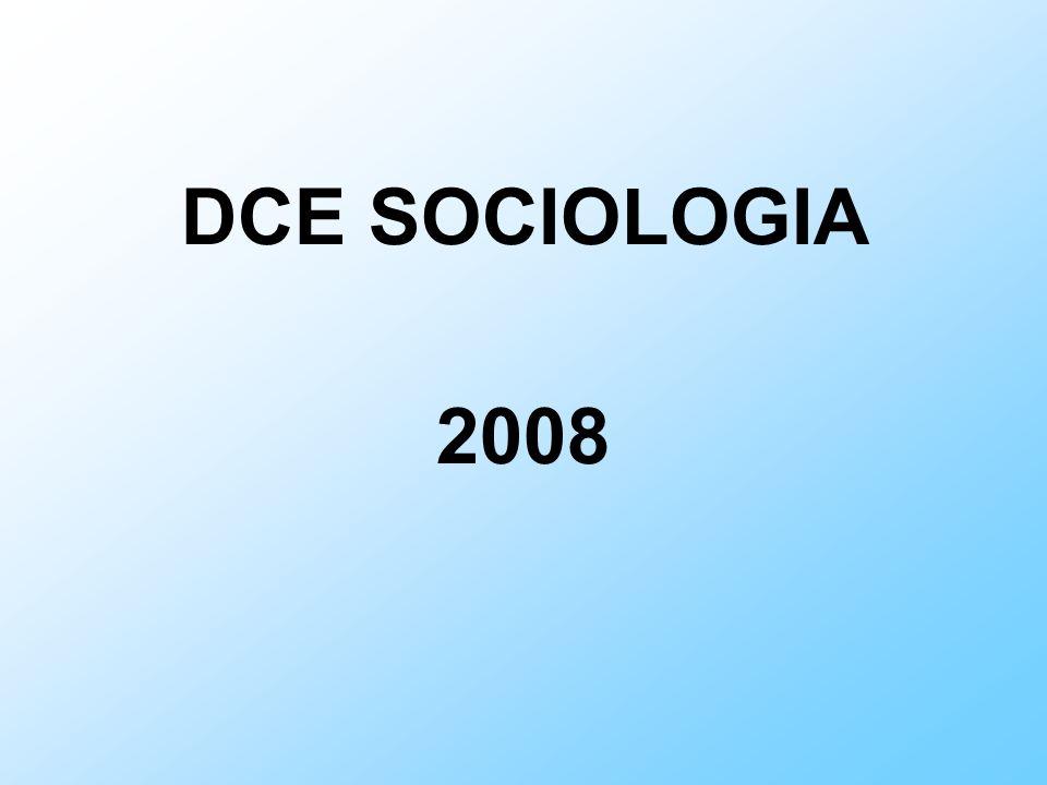 Composição: 1) Dimensão histórica da disciplina 2) Fundamentação teórico-metodológica O pensamento dos clássicos: Émile Durkheim e o princípio da integração social; Max Weber e o princípio da racionalização social;