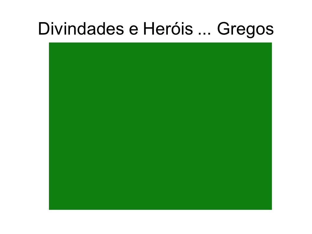 Divindades e Heróis... Gregos Mito grego de Afrodite, envolvendo os deuses Hefesto e Ares.