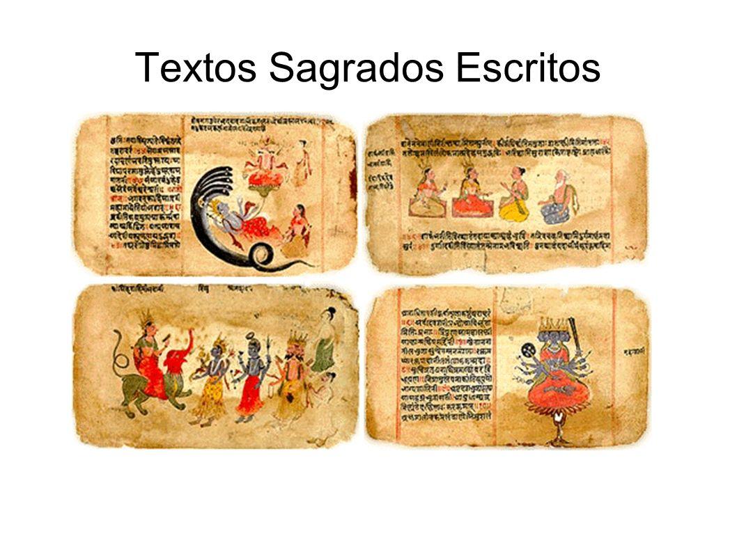 Textos Sagrados Escritos Ilustração 4 Vedas: http://www.harekrsna.com/philosophy/gss/sastra/knowledge/knowledge.htm