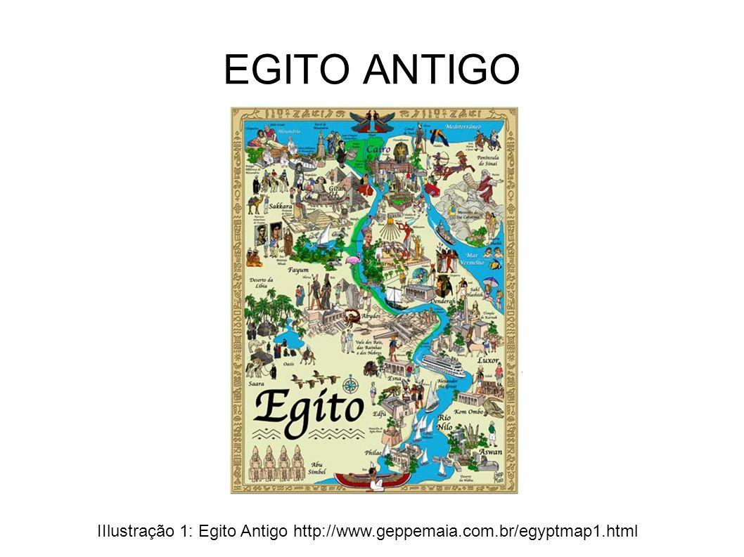 EGITO ANTIGO IIlustração 1: Egito Antigo http://www.geppemaia.com.br/egyptmap1.html