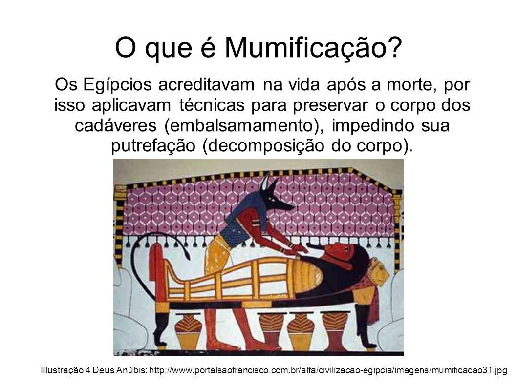 O que é Mumificação.