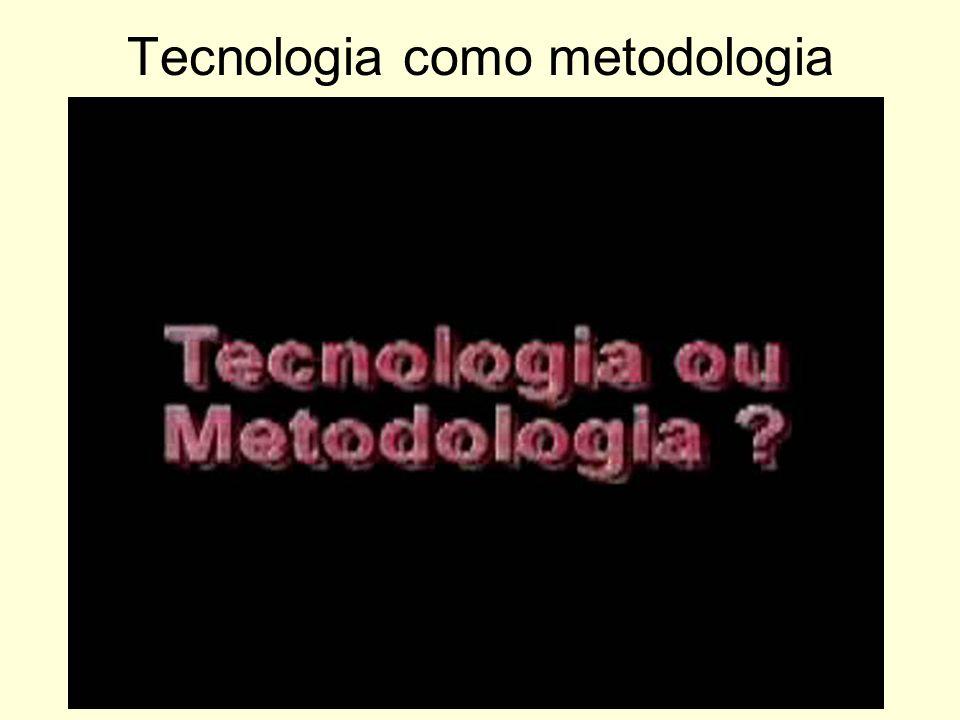 Tecnologia como metodologia