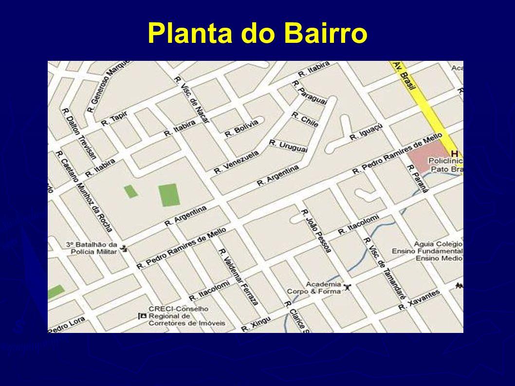 Planta do Bairro