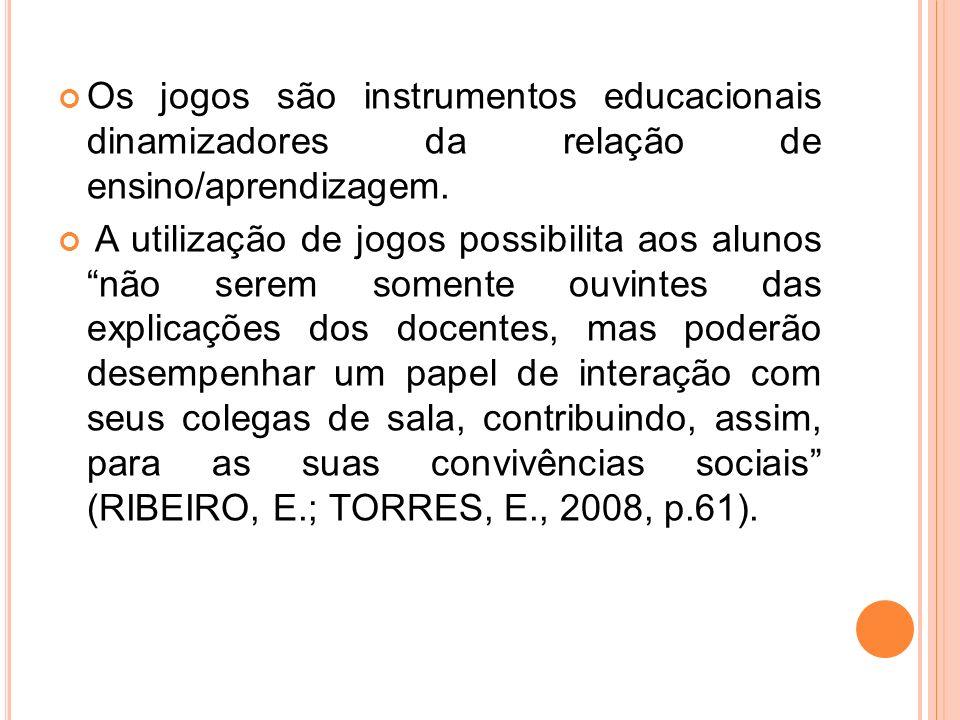 REFERÊNCIAS BRANDES, Donna; PHILLIPS, Howard.Manual de jogos educativos.