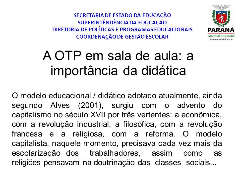 SECRETARIA DE ESTADO DA EDUCAÇÃO SUPERINTÊNDÊNCIA DA EDUCAÇÃO DIRETORIA DE POLÍTICAS E PROGRAMAS EDUCACIONAIS COORDENAÇÃO DE GESTÃO ESCOLAR O modelo e