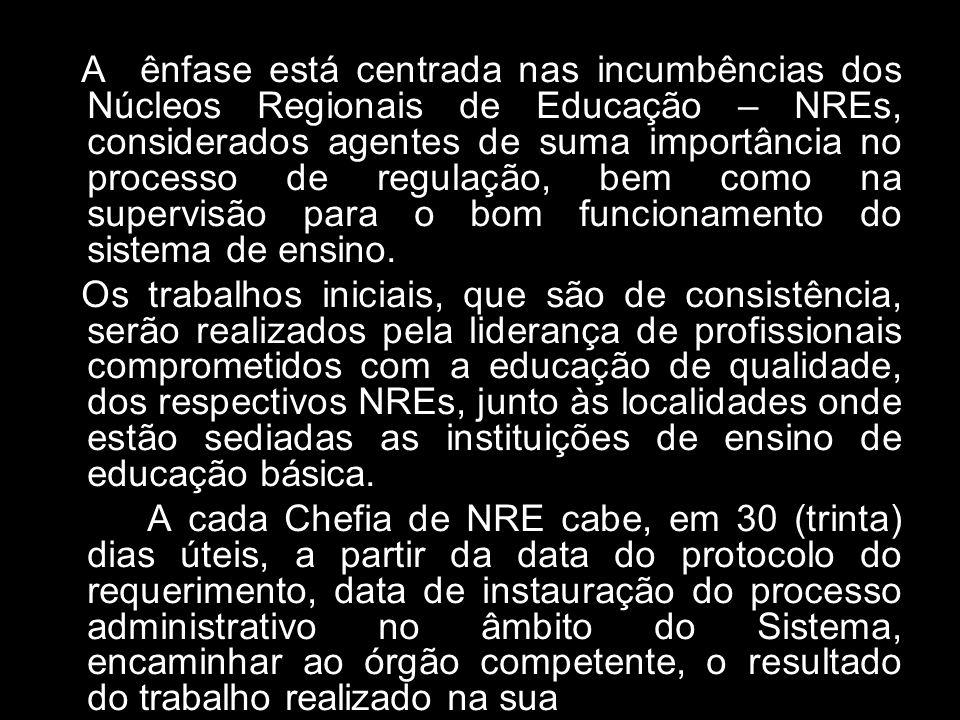sobre os fatos ao órgão competente do Sistema e propor, quando for o caso, a instauração de procedimento administrativo de sindicância, que vise a aplicação de sanções previstas na legislação e nas normas em vigor.