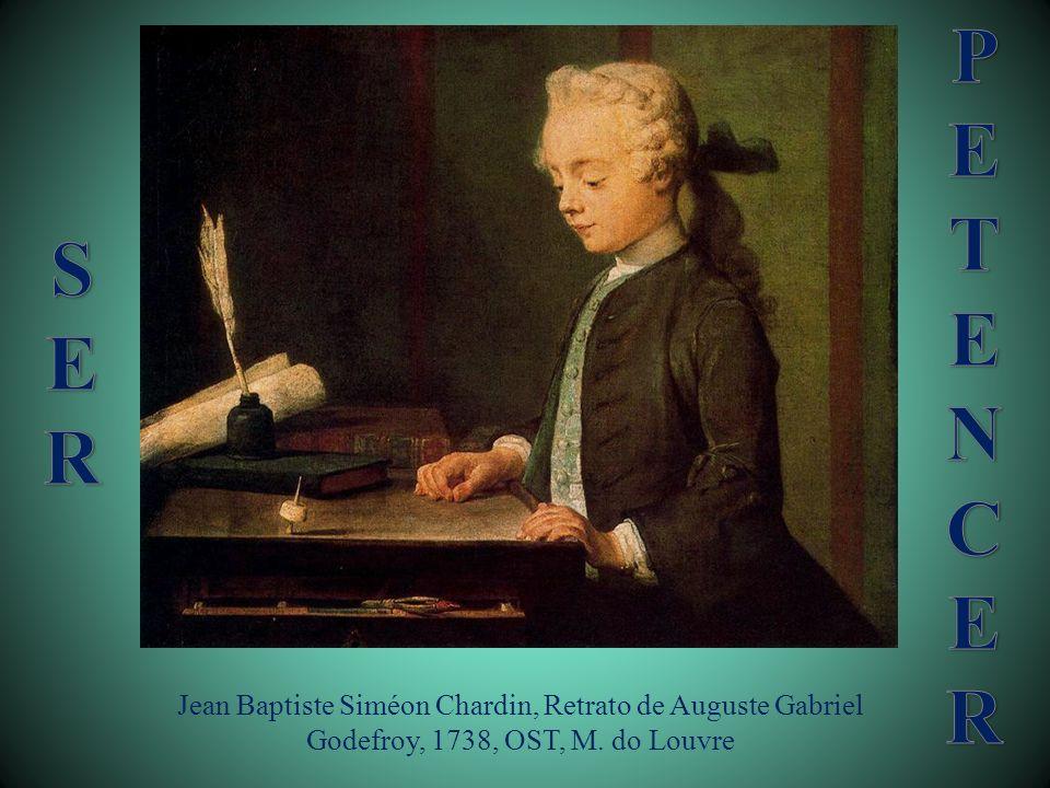 Jean Baptiste Siméon Chardin, Retrato de Auguste Gabriel Godefroy, 1738, OST, M. do Louvre
