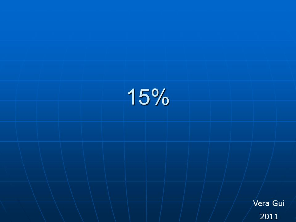 Vera Gui 2011 15%