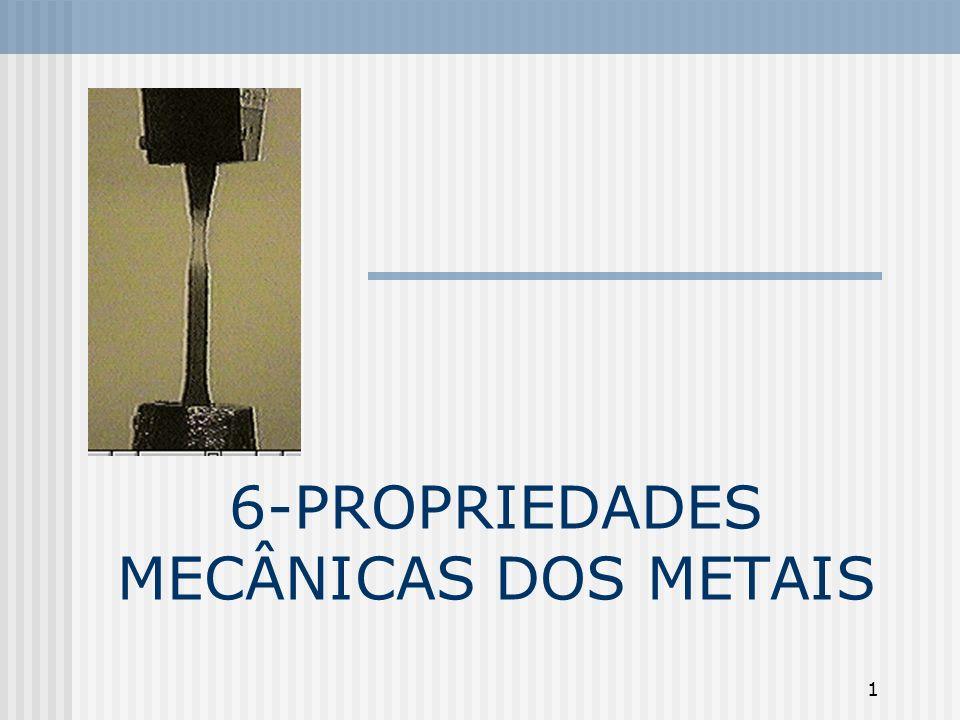 1 6-PROPRIEDADES MECÂNICAS DOS METAIS
