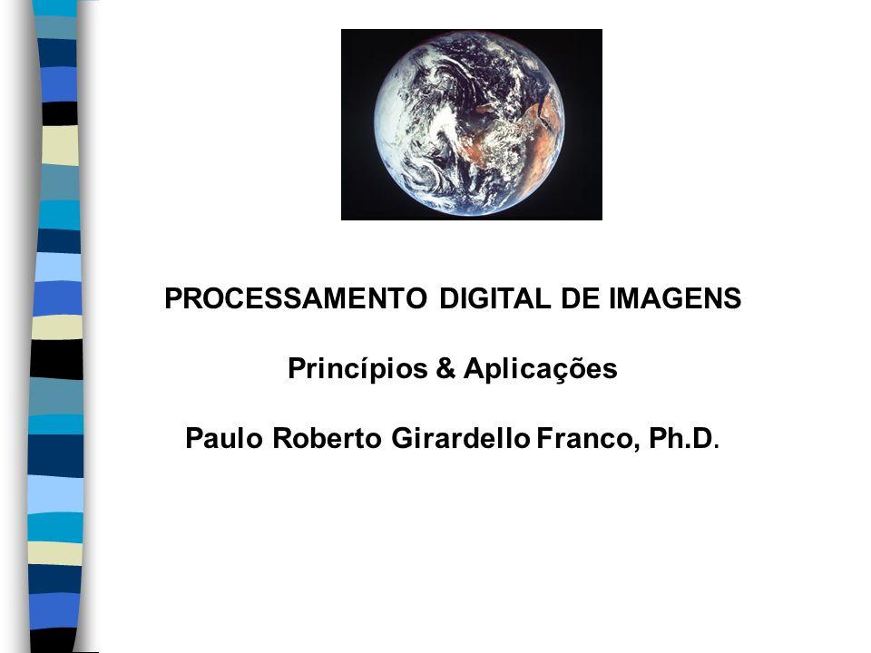 PROCESSAMENTO DIGITAL DE IMAGENS Princípios & Aplicações Paulo Roberto Girardello Franco, Ph.D.