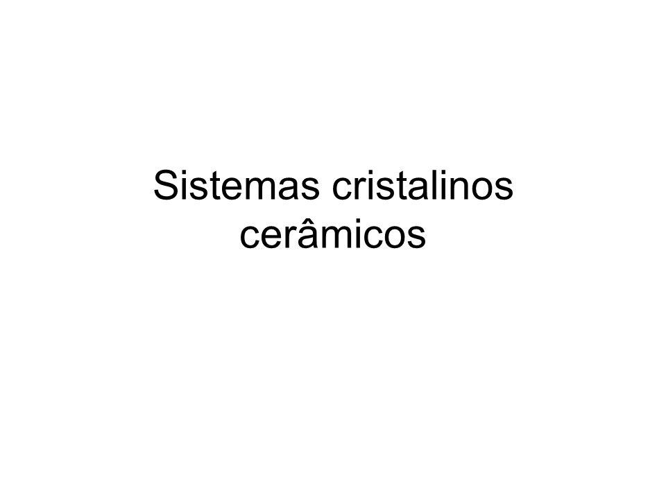 Sistemas cristalinos cerâmicos