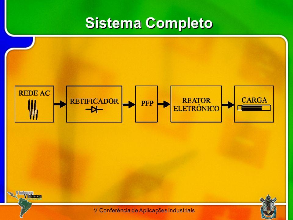 V Conferência de Aplicações Industriais Sistema Completo