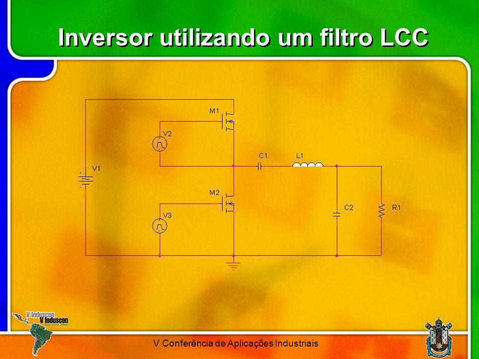 V Conferência de Aplicações Industriais Inversor utilizando um filtro LCC
