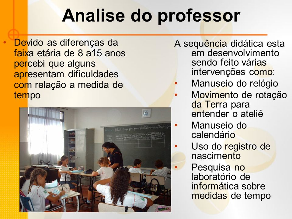 Produção do aluno
