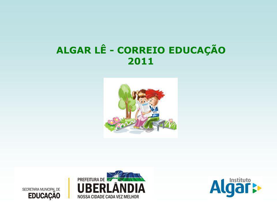 ALGAR LÊ - CORREIO EDUCAÇÃO 2011
