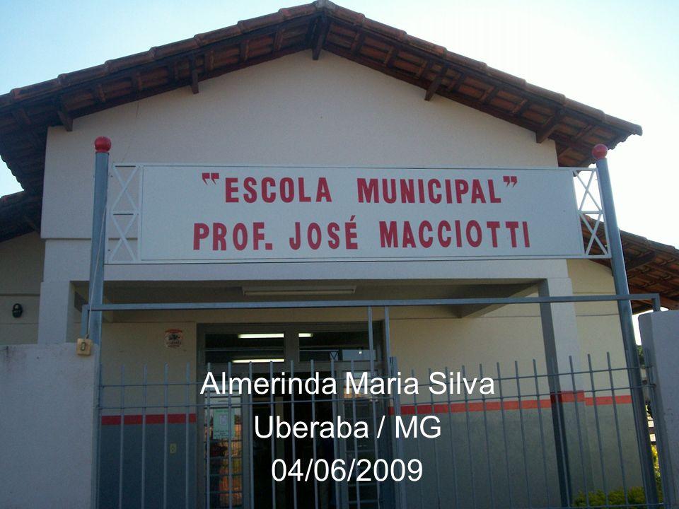 Almerinda Maria Silva Uberaba / MG 04/06/2009