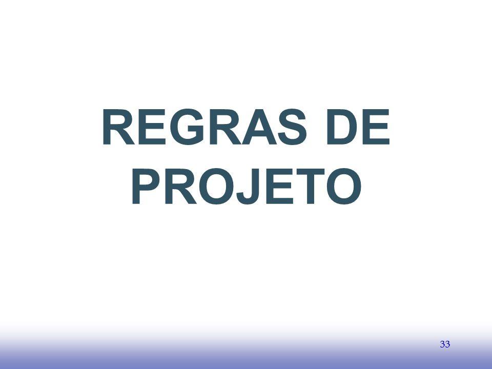 EE141 33 REGRAS DE PROJETO 33