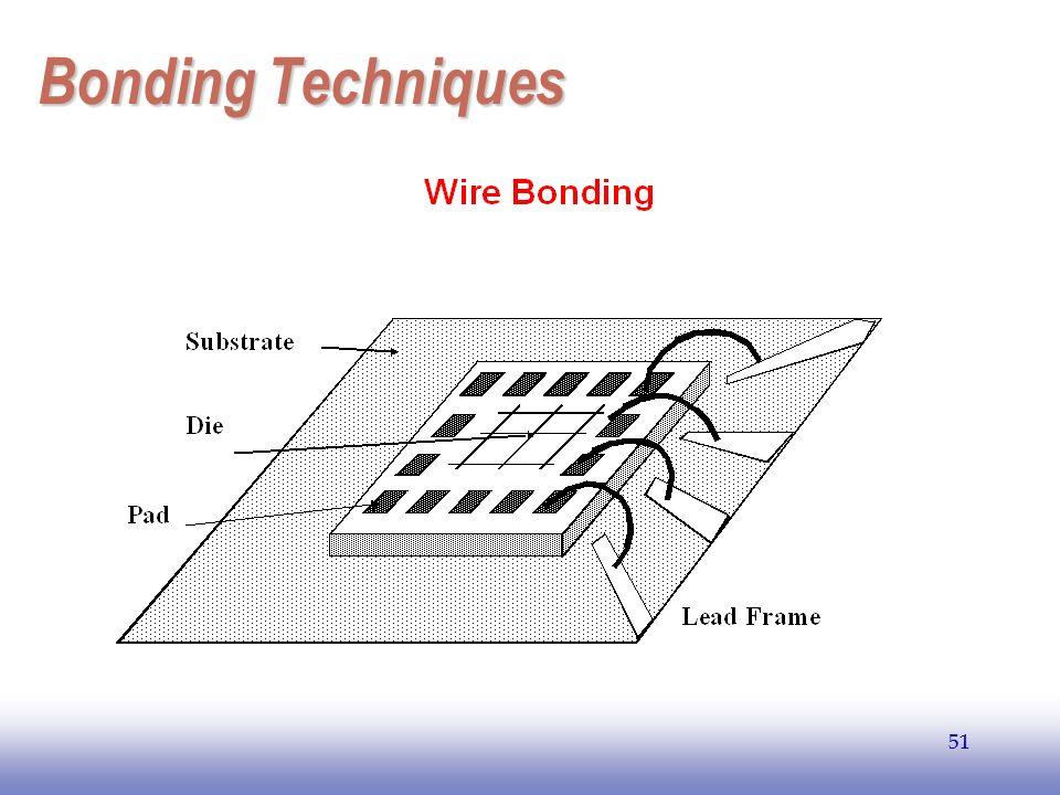 EE141 51 Bonding Techniques 51