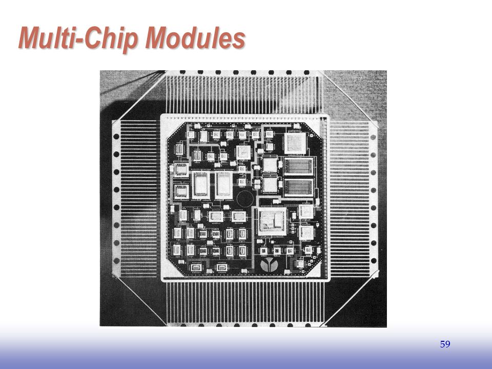 EE141 59 Multi-Chip Modules 59