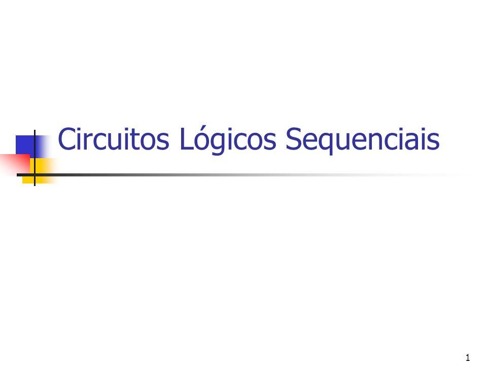 1 Circuitos Lógicos Sequenciais
