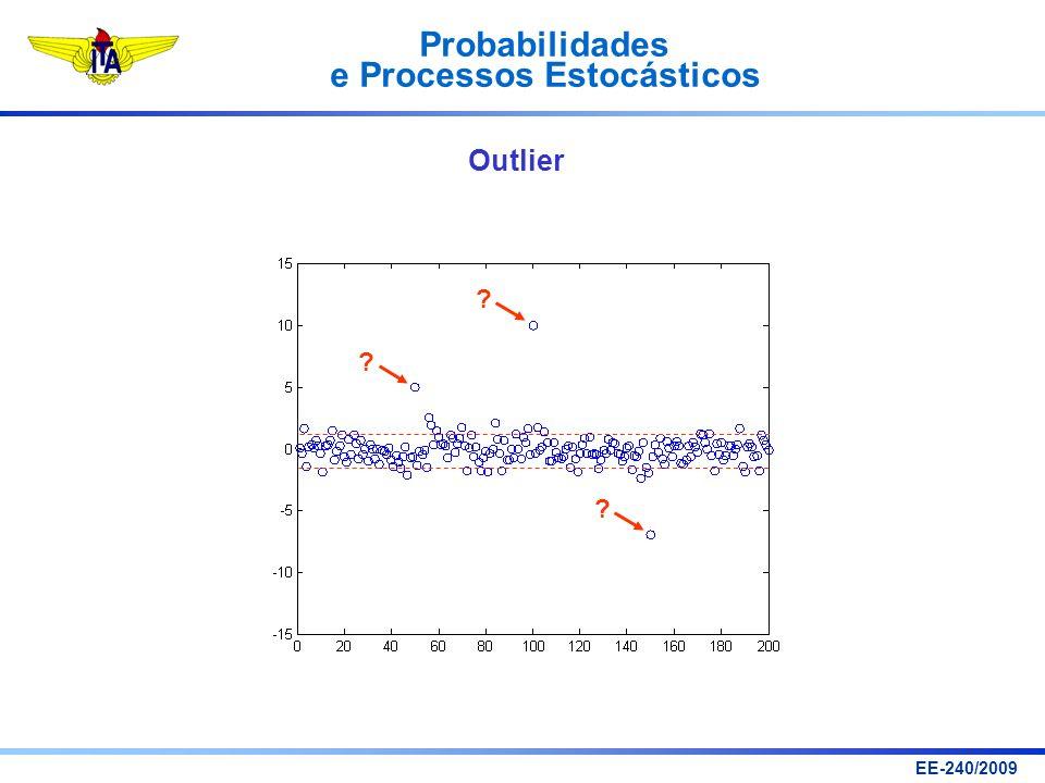 Probabilidades e Processos Estocásticos EE-240/2009 ? ? ? Outlier