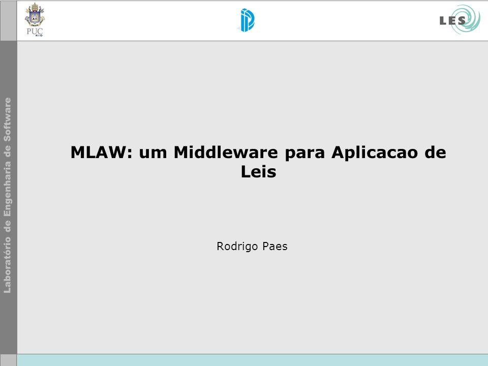 MLAW: um Middleware para Aplicacao de Leis Rodrigo Paes