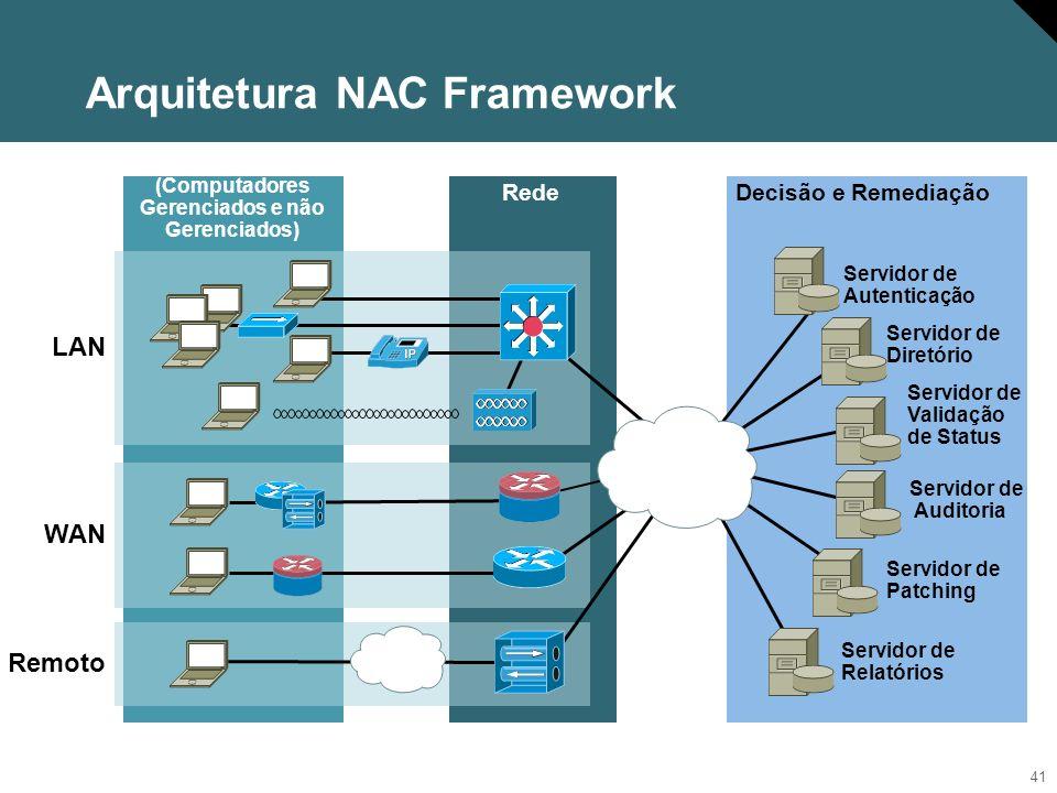 42 NAC proporciona maior Segurança Qual é a melhor maneira de verificar/corrigir.