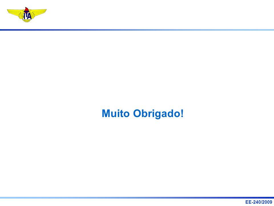 EE-240/2009 Muito Obrigado!