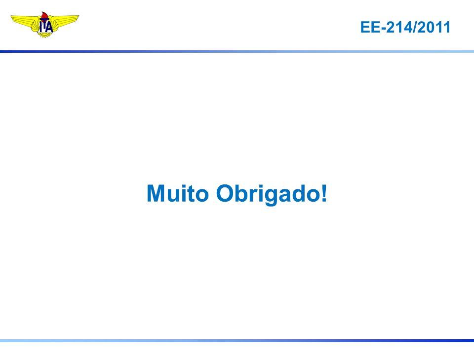 EE-214/2011 Muito Obrigado!