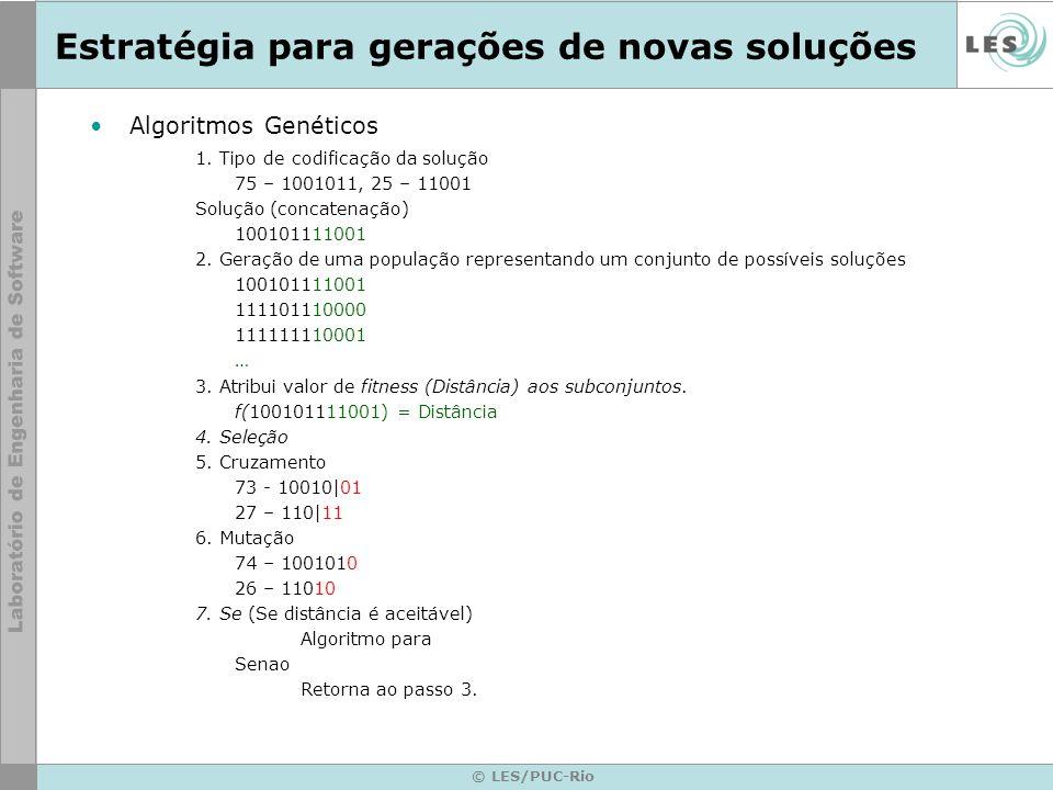 © LES/PUC-Rio Algoritmo Genético - Resultados Melhor resultado obtido –Qual o modelo gerado.