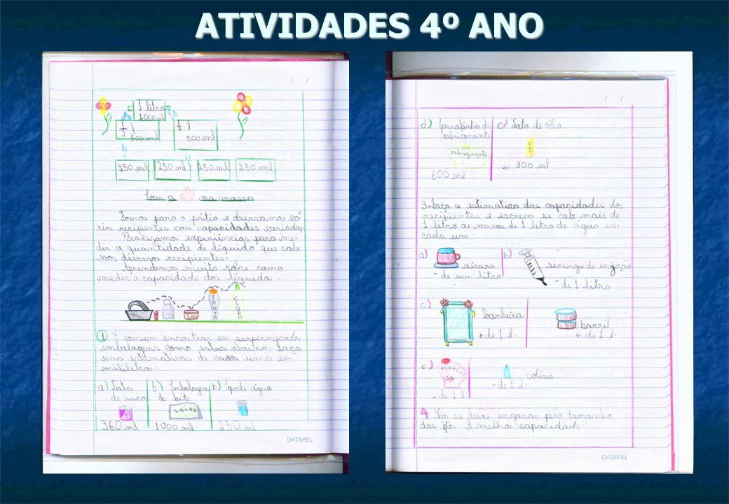 ATIVIDADES 5 º ANO