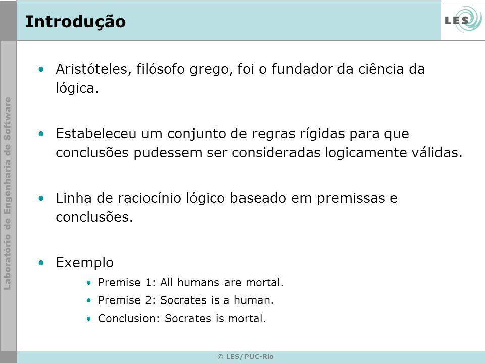 © LES/PUC-Rio Planning Algoritmo de planejamento hierárquico ABSTRIPS: –Soluciona o problema levando em consideração as tarefas de maiores níveis de urgência.