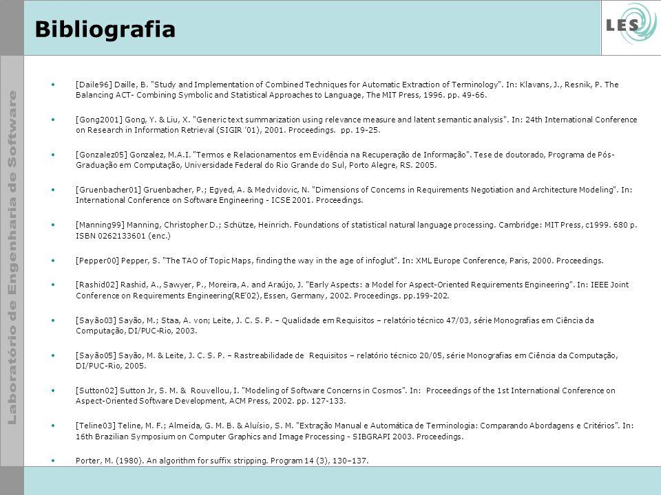 Bibliografia [Daile96] Daille, B.
