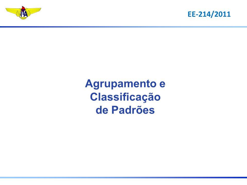 EE-214/2011 Agrupamento e Classificação de Padrões