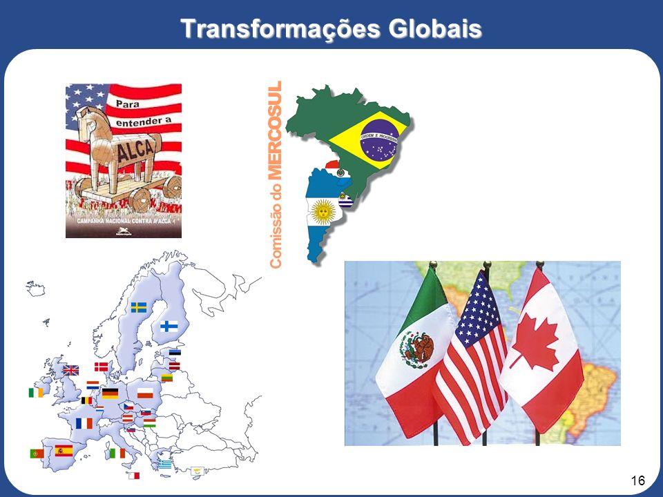 15 Transformações Globais