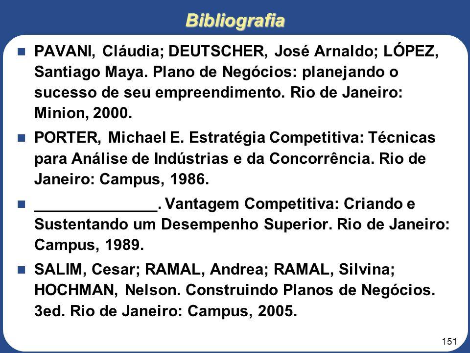 150Bibliografia DOLABELA, Fernando. O Segredo de Luísa. São Paulo: Cultura Editores Associados, 1999. CUSUMANO, M. The Business of Software. New York:
