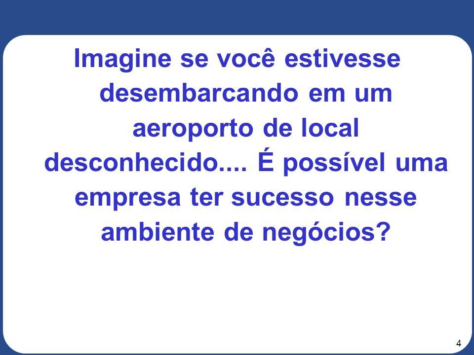 4 Imagine se você estivesse desembarcando em um aeroporto de local desconhecido....