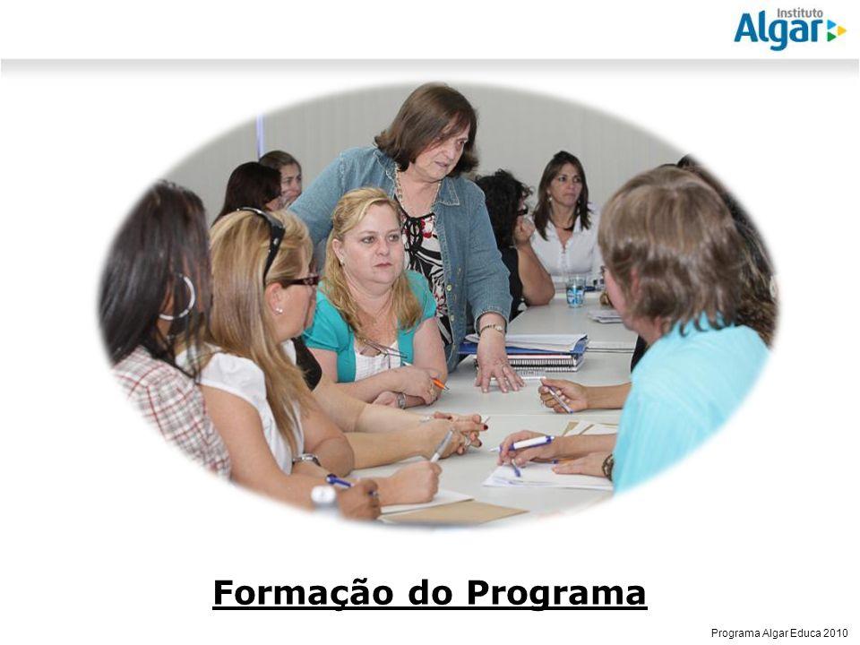 Reunião Gerencial, 20/05/2008 Programa Algar Educa 2010 Formação do Programa