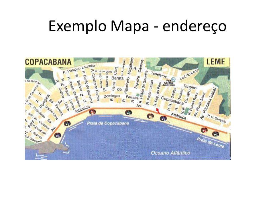 Exemplo Mapa - endereço
