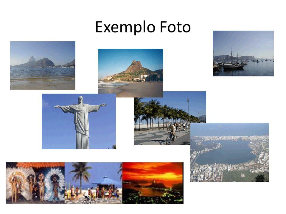 Exemplo Foto
